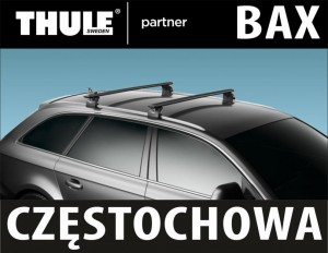 Bagażnik Thule Rapid System 753+WingBar black+KIT